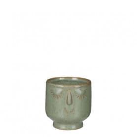 Cache-pot rond en céramique...
