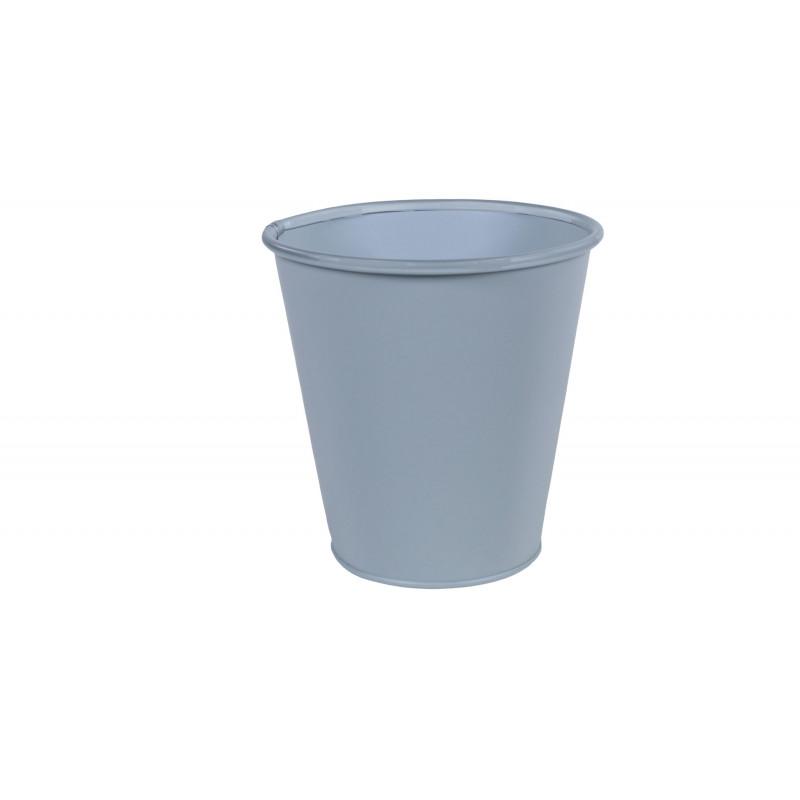 Cache-pot en zinc Triatou D. 6.5cm - Grossiste fleuriste