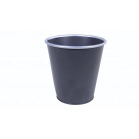 Cache-pot en zinc à bordure argentée Triou - Renaud Distribution