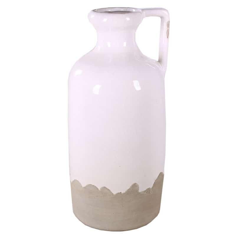 Vase céramique bouteille Ertou - Grossiste fleuriste