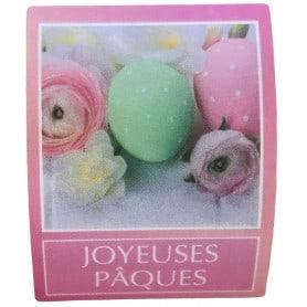 Étiquettes adhésives roses...
