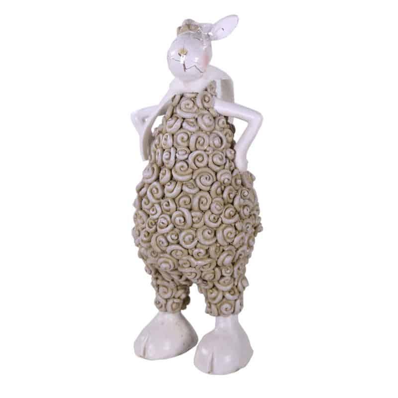 Figurine mouton décoratif Sheppo - Grossiste fleuriste déco