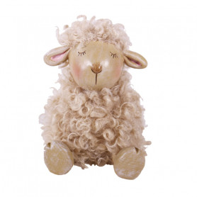 Figurine mouton touffu Sido...