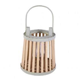 Lanterne en bambou avec...