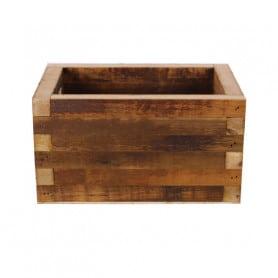 Bac rectangulaire en bois...