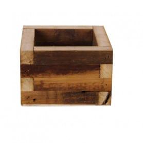 Bac carré en bois Leonota