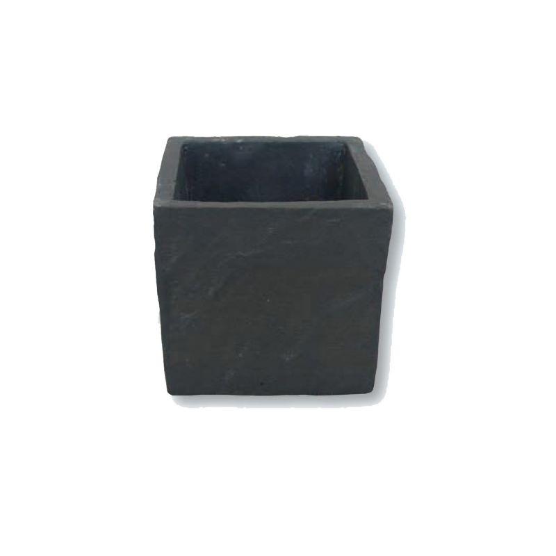 Pot carré ardoise naturel