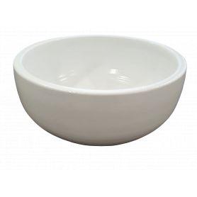 Coupe ronde céramique D. 25 x H. 11 cm