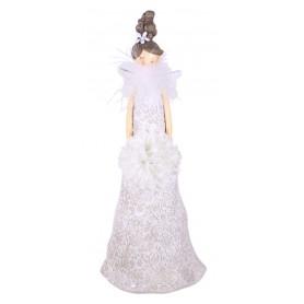 Figurine femme mariée Angela - Matériel fleuriste
