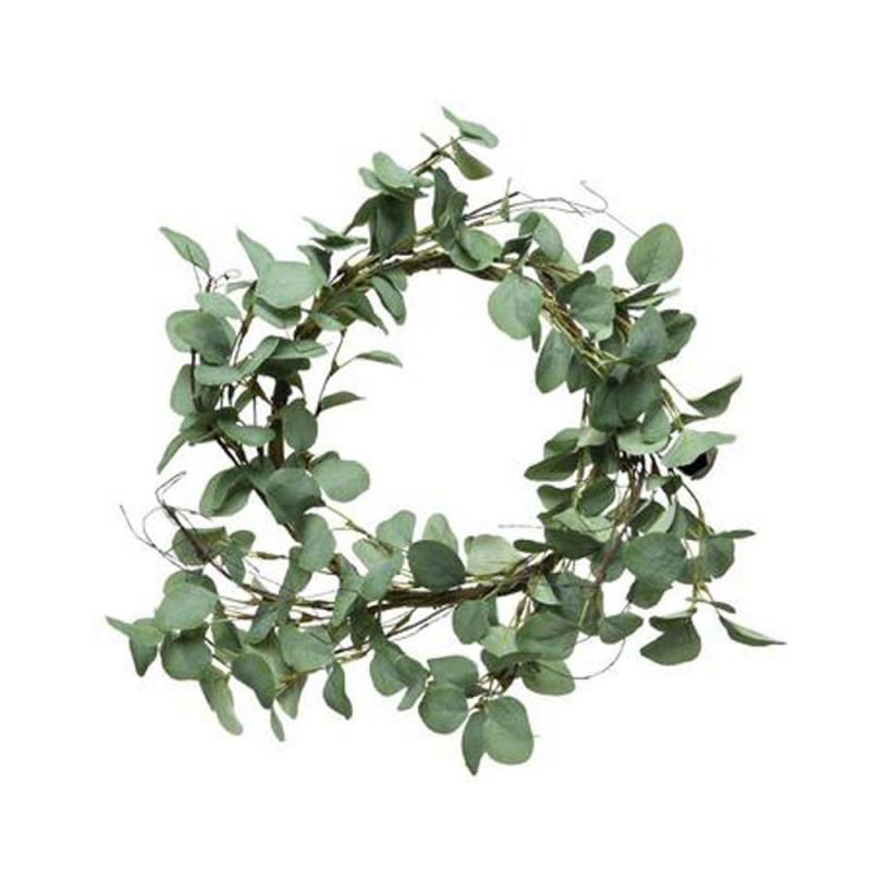 Couronne d'eucalyptus artificiel Solane - Matériel fleuriste