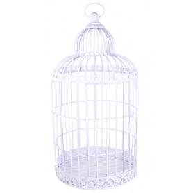 Cage à oiseau décorative en métal Alesa - Grossiste décoration