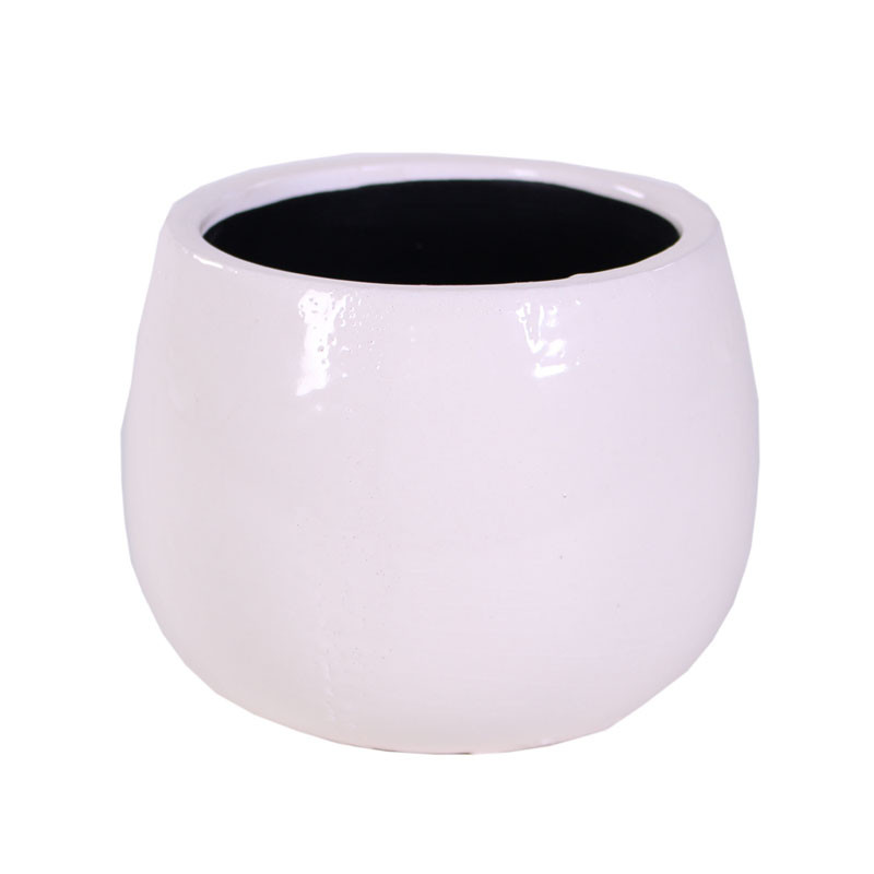 Cache-pot boule en céramique Asumo - Matériel fleuriste