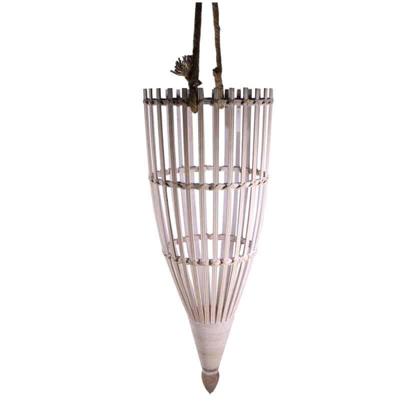 Lanterne nasse en rotin à suspendre Jesa - Matériel fleuriste