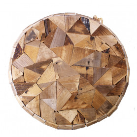 Disque en bois décoratif Bando