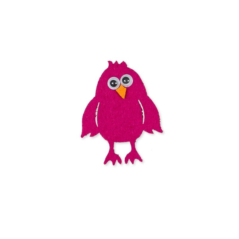 Oiseaux en feutrine Chuta - Matériel fleuriste