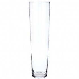 Vase conique en verre Koupy