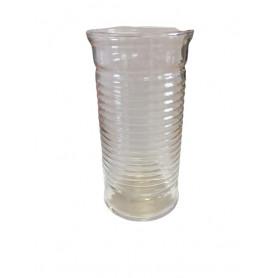 Vase gobelet strié Styve en...