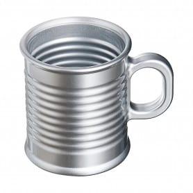 Mug en verre style conserve...