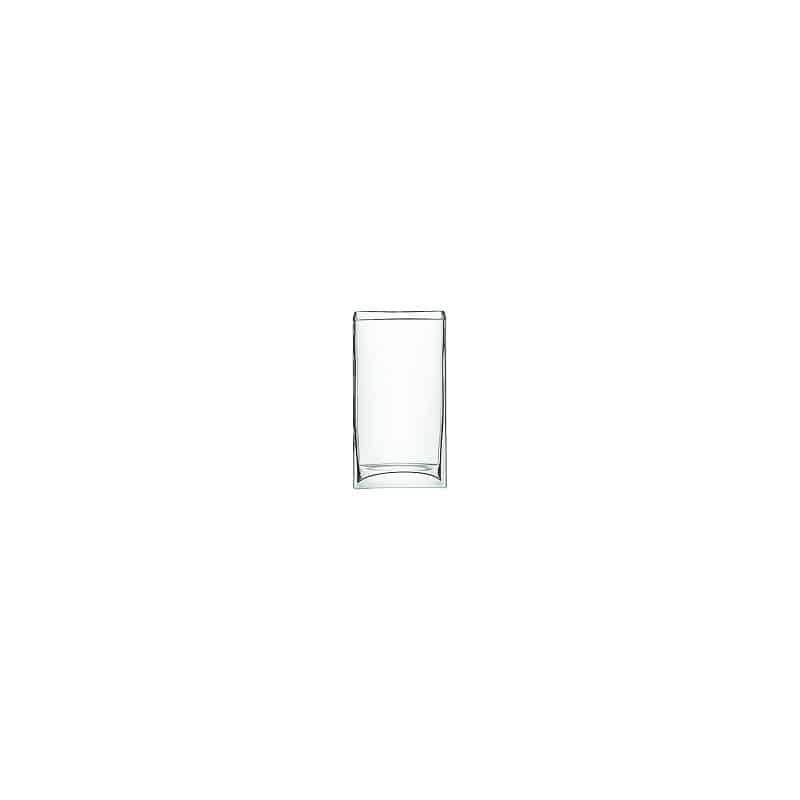 Vase rectangulaire en verre Tion - Grossiste pour fleuriste