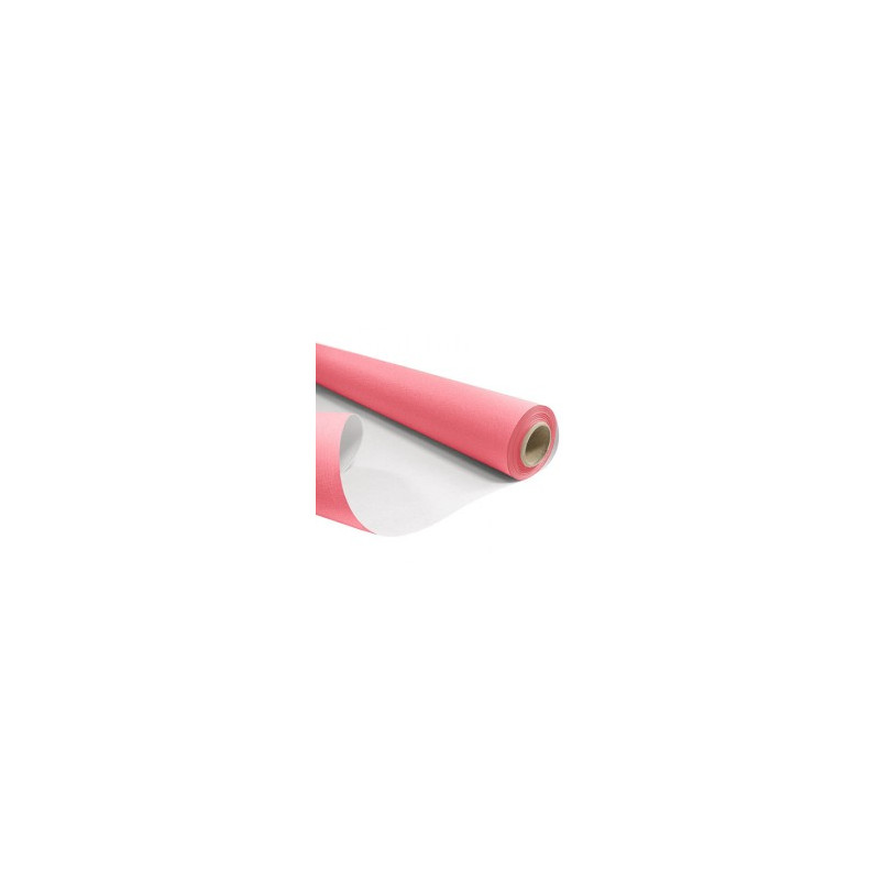 Papier kraft blanchi rose recto verso - Grossiste fleuriste