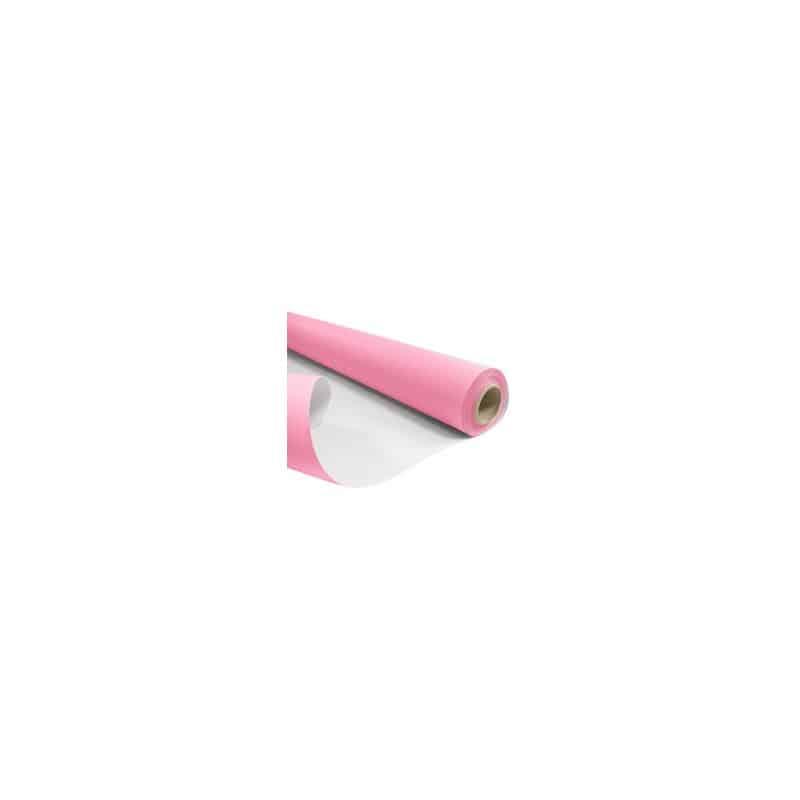 Papier kraft blanchi baby rose recto verso - Grossiste pour fleuriste