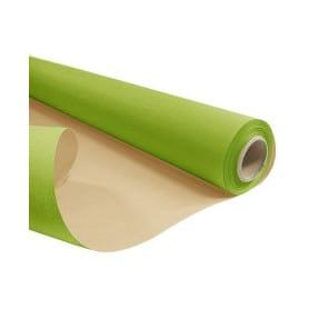 Papier kraft naturel vert...