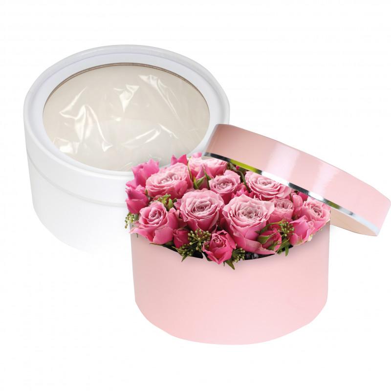 Mini boite à chapeau - emballage fleuriste