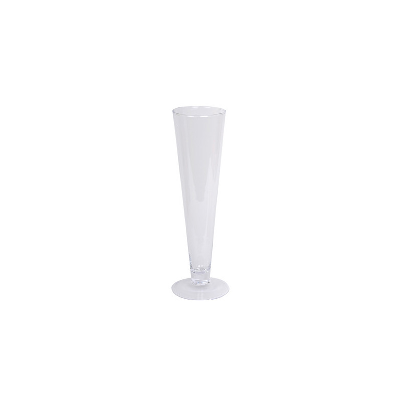 Vase en verre Fonda - Grossiste fleuriste mariage