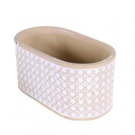 Jardinière ovale poterie...