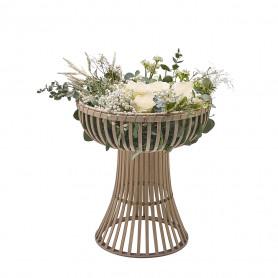 Support haut en osier Guindy - Matériel fleuriste