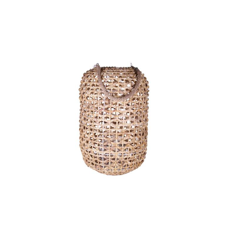 Lanterne jacynthe d'eau anse corde Kilta - Matériel pour fleuriste