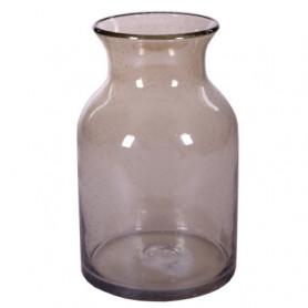 Vase carafe à col en verre...
