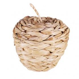 Pomme décorative en rotin Belty - Grossiste décoration fleuriste