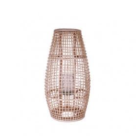 Lanterne ovale en rotin Nikha - Matériel pour fleuriste
