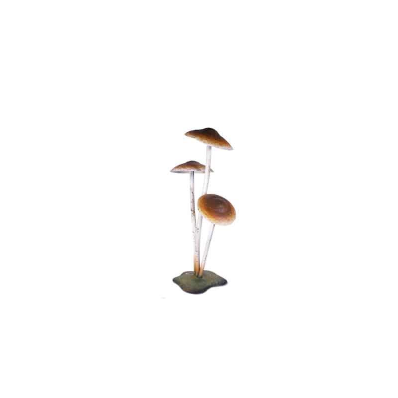Champignons en métal à poser - Décoration haloween grossiste