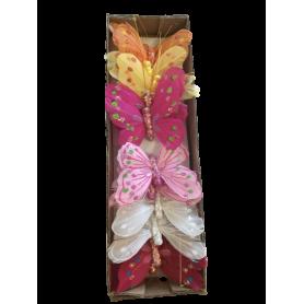 12 papillons à piquer Summera