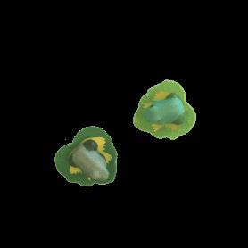 12 grenouilles sur pic Froga