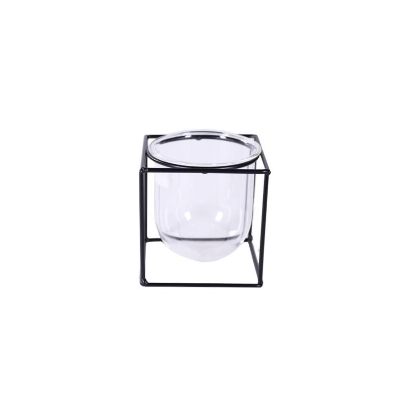 Vase structure métal Eliot - Décoration grossiste