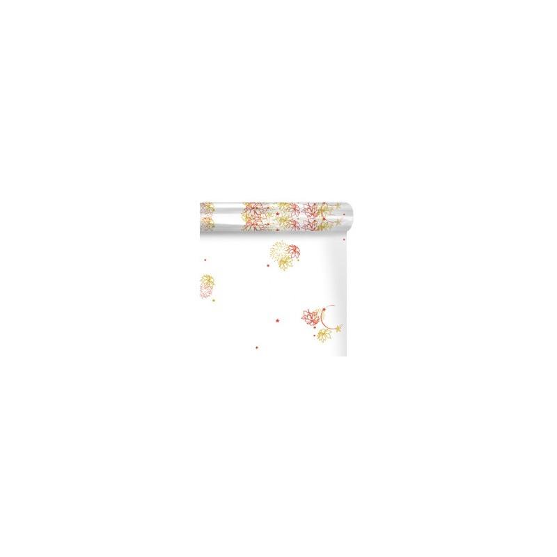 Papier polypro imprimé 35µ Lysiane - Matériel pour fleuriste décoration