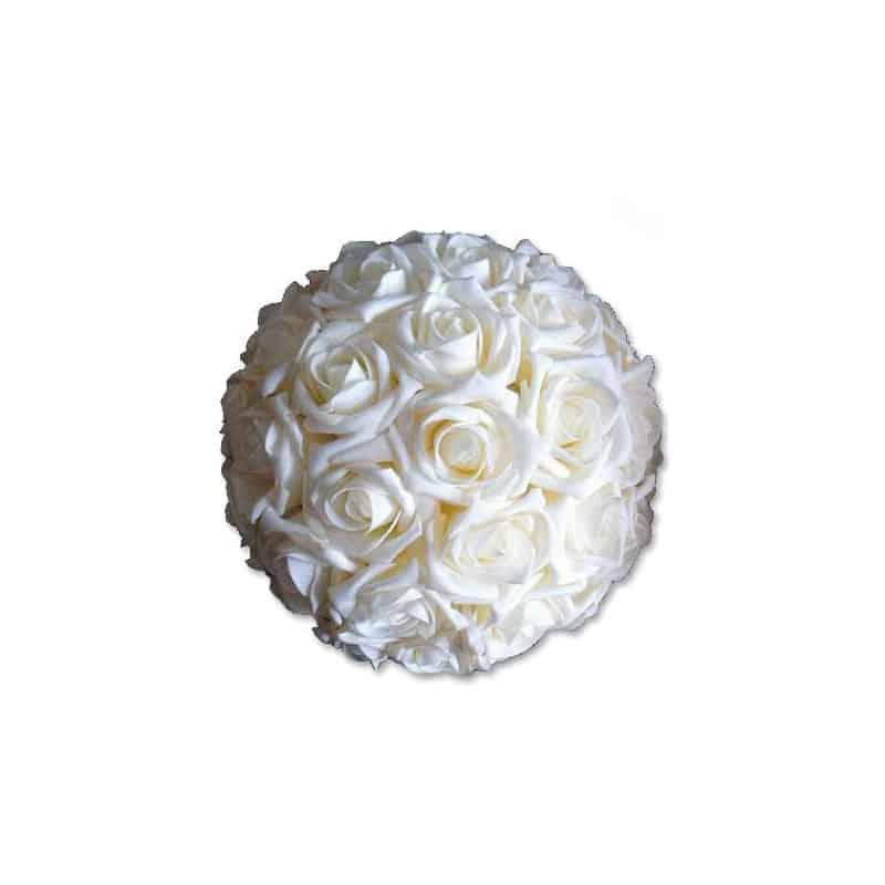 Boule de roses Elma - Grossiste fleuriste composition florale mariage