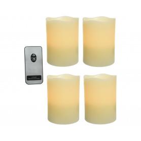 Bougie LED télécommande