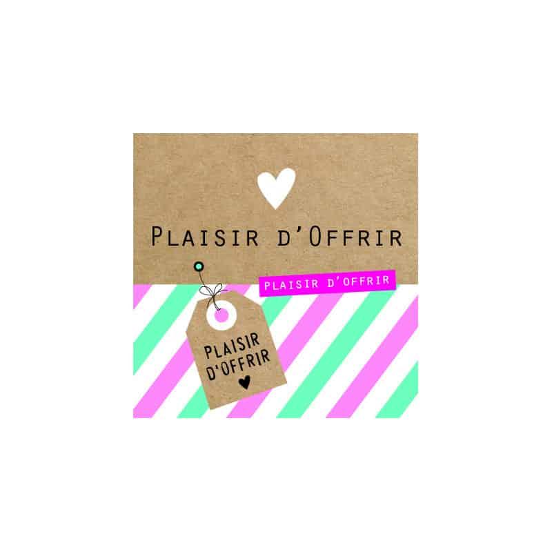 Étiquettes adhésives Plaisir d'offrir Loeline - Matériel pour fleuriste