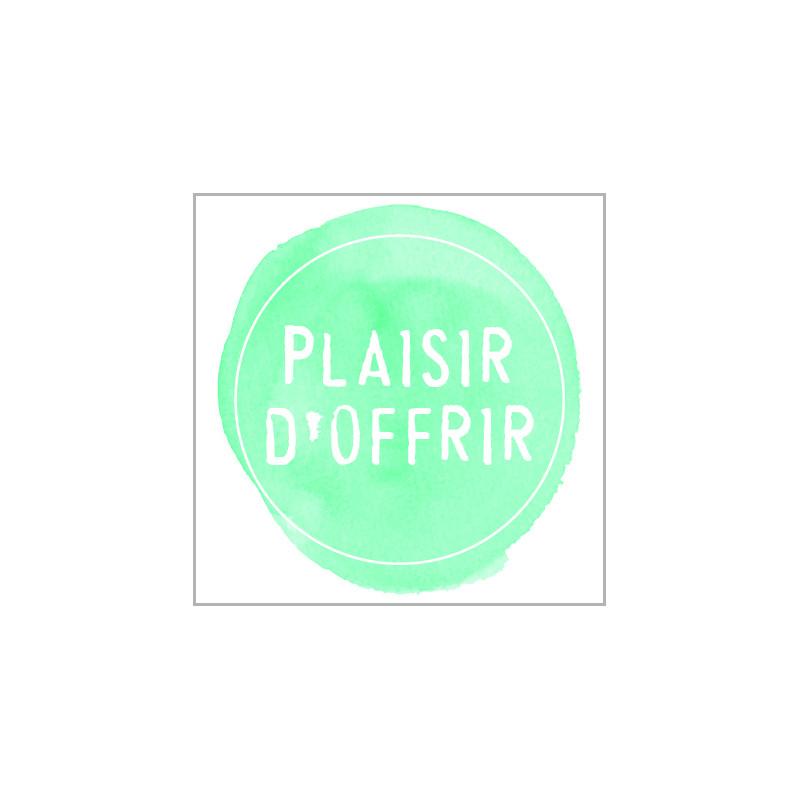 Étiquettes adhésives Plaisir d'offrir Lohane - Matériel pour fleuriste