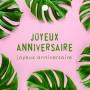 12 cartes de circonstance Joyeux anniversaire Mailou