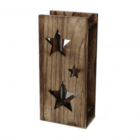 Éprouvette bois étoile Winny