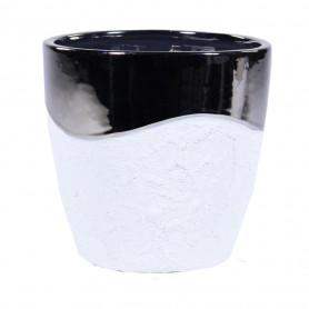 Pot céramique bi matière Lowry