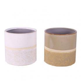 Pot cylindre bi-matière Lennon