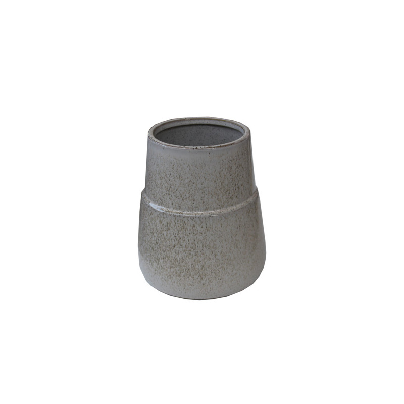 Vase déco moucheté Leeny - décoration nöel