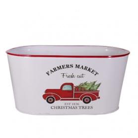 Jardinière ovale truck Bucks
