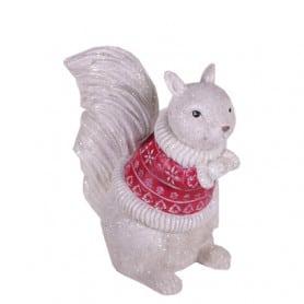 Écureuil pull rouge Beavidal